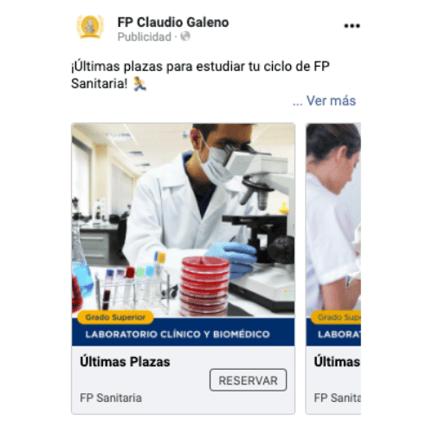 FP Claudio Galeno Facebook Ad
