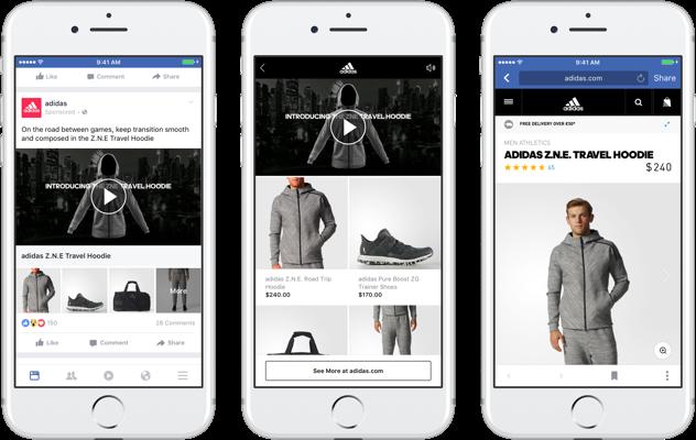 Collections: la nueva experiencia de compra inmersiva de Facebook