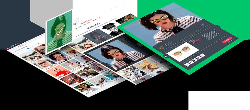 Visual Commerce - Creative tech