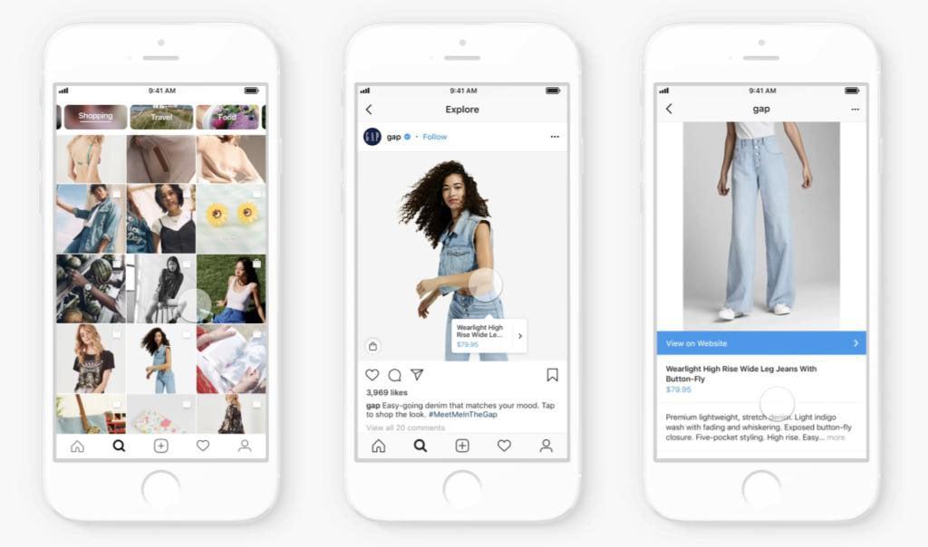 Instagram Shopping 1