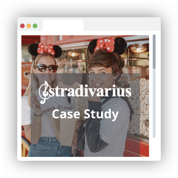 Case Studies Stradivarius - Visual Commerce