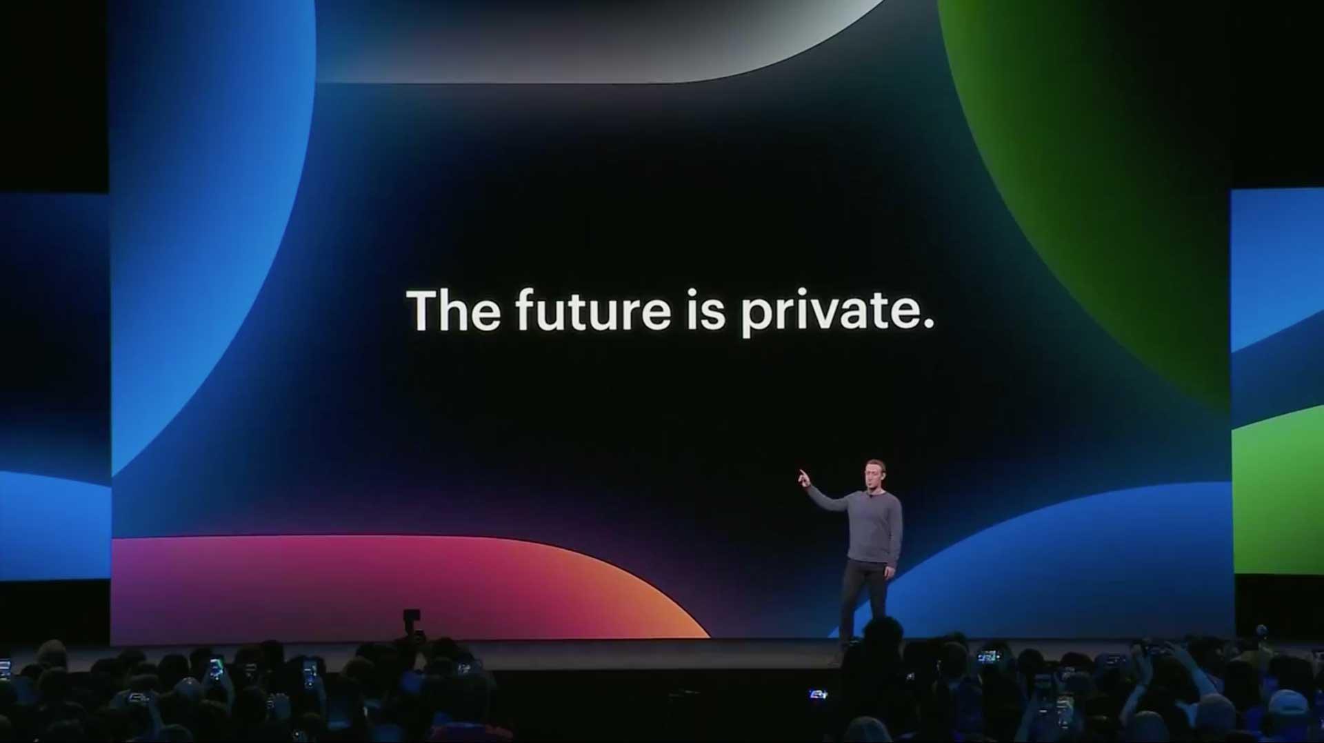 F82019 The future is private