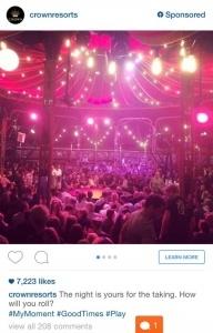 instagram advertising tourism