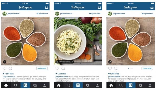 jaspers market instagram advertising