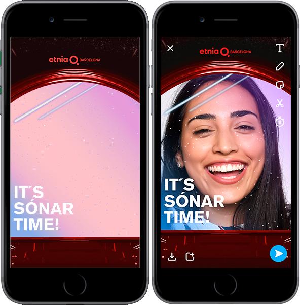 """""""It's Sonar Time"""" de Etnia X Sonar en Snaphat"""