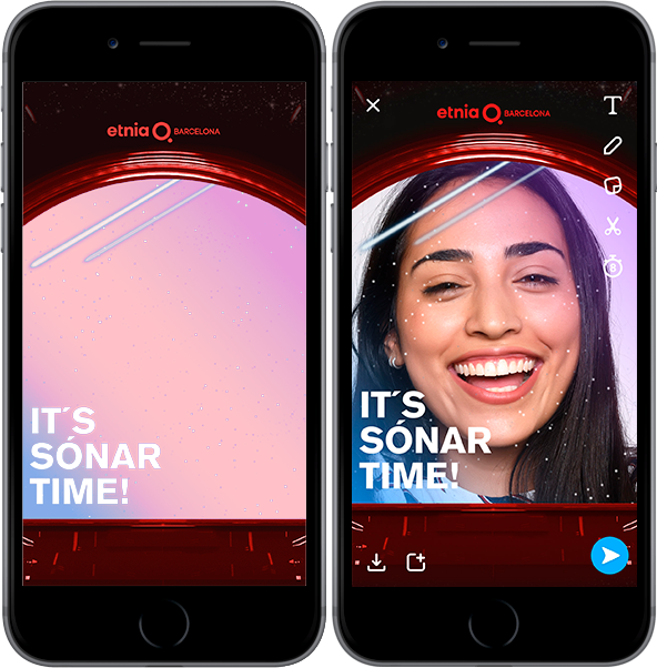It's Sonar Time by Etnia Barcelona at Snapchat