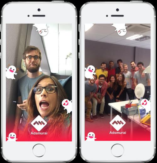 Snapchat Business Manager - Adsmurai - Adsmu Filter