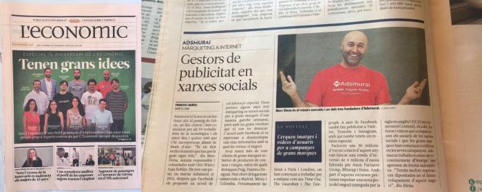 economic -Medios Adsmurai- candidato al Unicorn catala de l'any