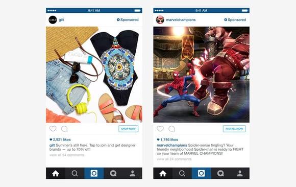 instagram advertising retail examples