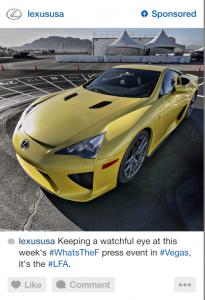 instagram advertising automotive