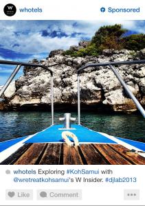 instagram advertising travel