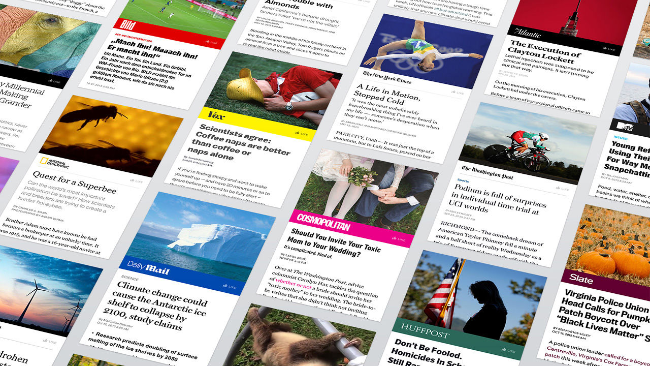 We provide Instant Articles!