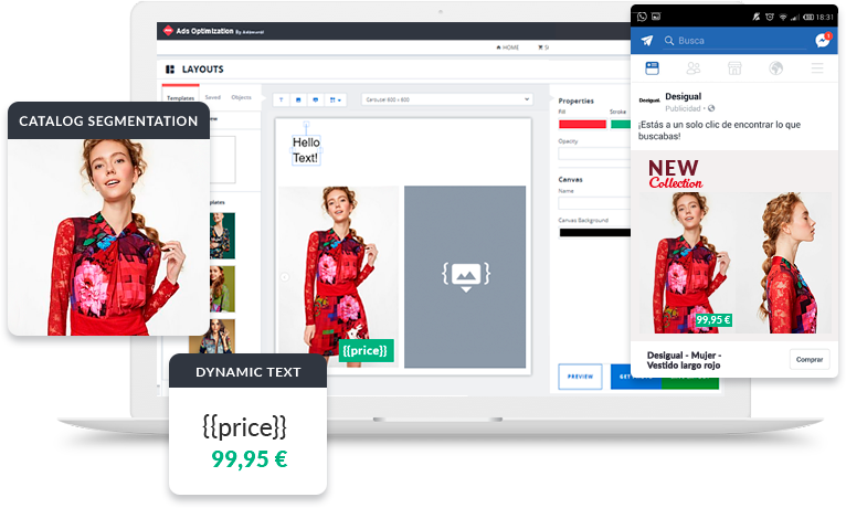 Dynamic Ads and product catalogue