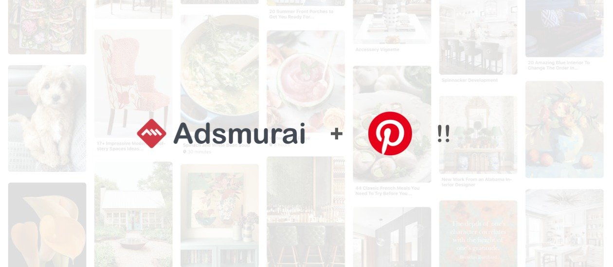 Adsmurai & Pinterest Marketing Partners
