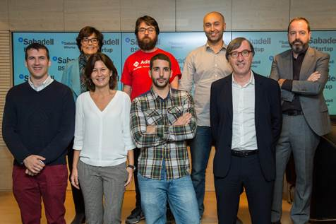 Winners of Banco Sabadell's BStartup